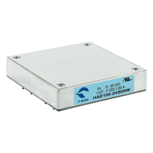HAE100W - DC/DC Half-Brick  Single Output : 100W