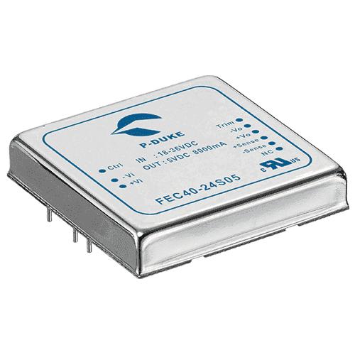 DLP-FEC60 - DC/DC Converter Single Output: 60W 24V & 48V Input Voltage