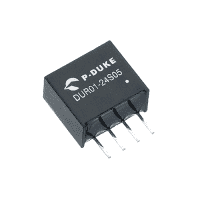 SLP-DUR01 - DC/DC Single Output: 1W