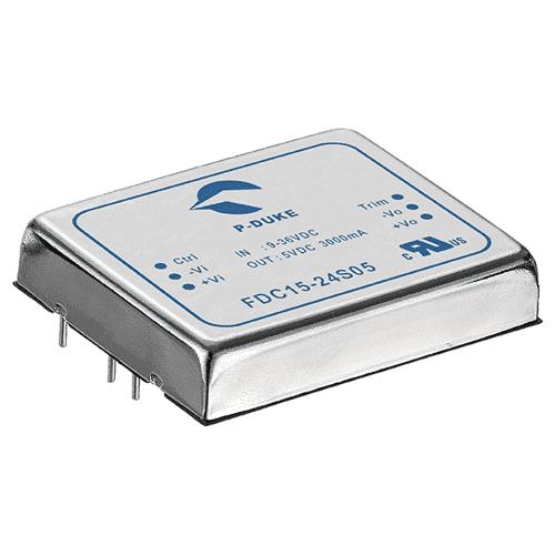 SLP-FDC15 - DC/DC  Converter Single & Dual Output: 15W