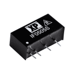 IF - DC/DC Regulated  Single Output: 1W