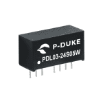 PDL03W - DC/DC  Converter Single & Dual Output: 3W