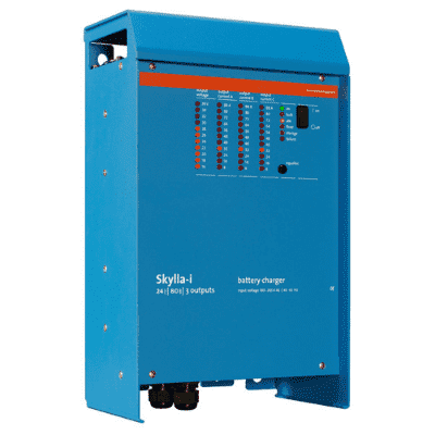 SKYLLA-I-24-100 - 24V Modern Battery Charger