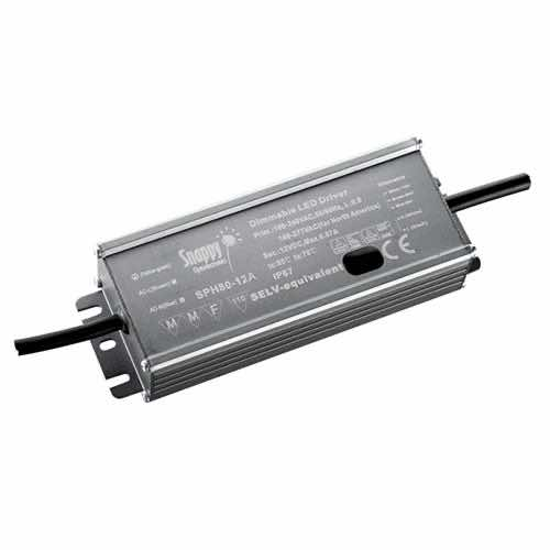 LLIP20-SPH80 - Constant Voltage / Constant Current IP65 LED Power Supplies 80W Australia Supplier - Lighting Applications