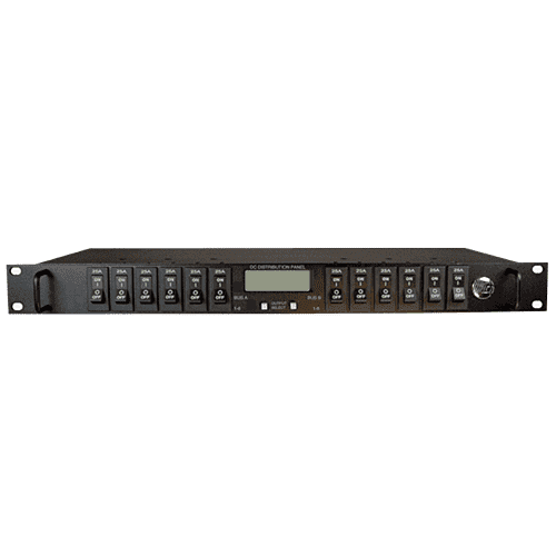 Distribution-Series 3 Dual-Bus DISICT200DB-12IRC - Australia DC Load Distribution Panel 12V 24V 48V SNMP TCP/IP ICT200DF-12 ICT200DB-12 ICT200DF-12IRC ICT200DB-12IRC