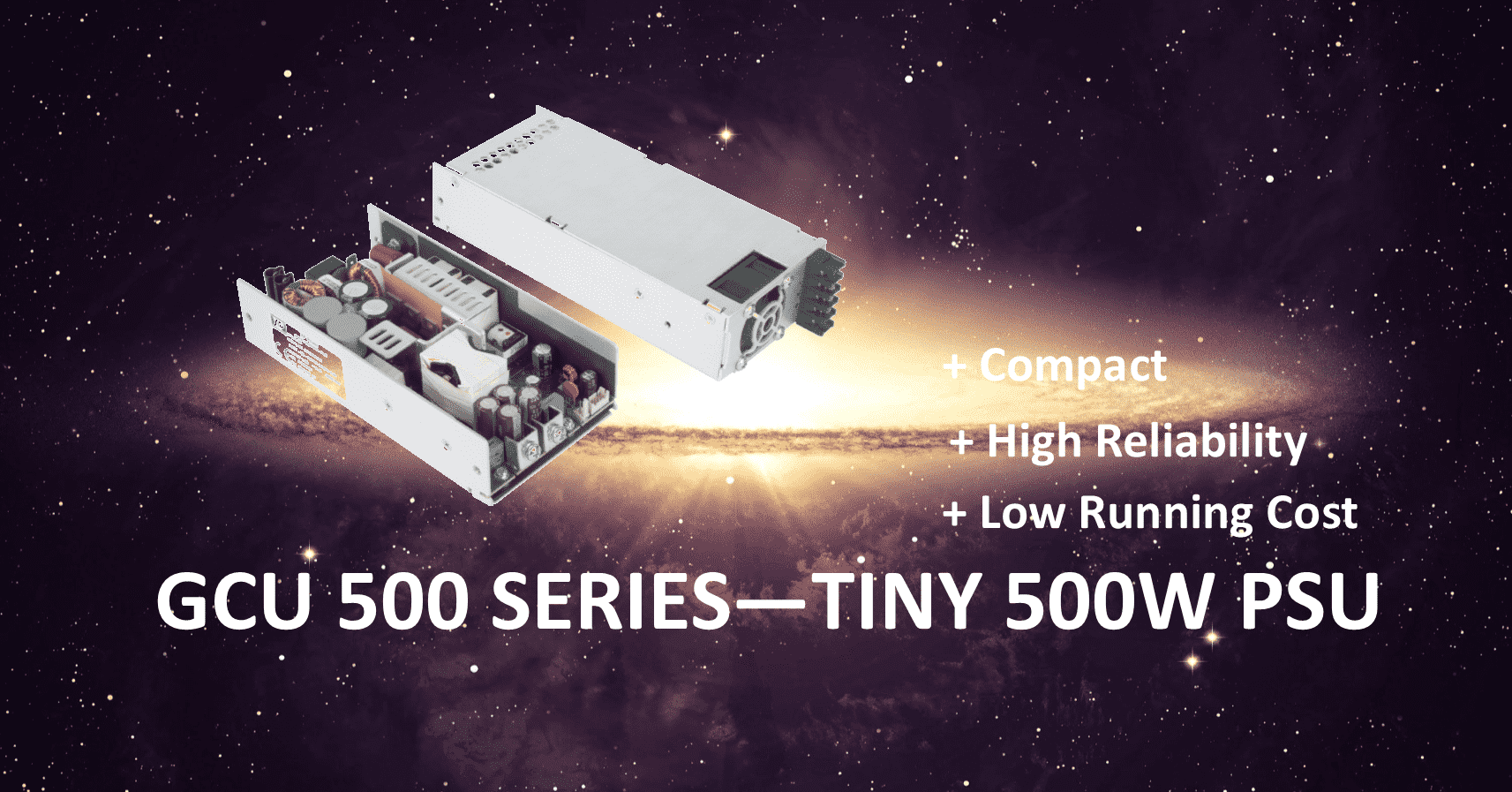 GCU 500 Series Tiny Power Supply 500 W