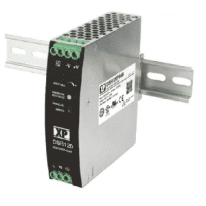 DSR240 240W DIN-Rail Mounting AC to DC Power Supply with 24V and 48V output voltage options. XP Power