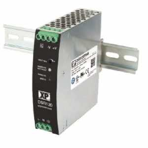 DSR120 120W DIN-Rail Mounting AC to DC Power Supply with 12V, 24V and 48V output voltage options XP Power DIstributor