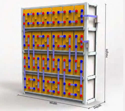 Battery-Rack-EXC-Series Extreme Cyclic Baterries - Renewable Applications - New Zealand - Australia