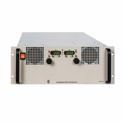 KR Series 3kW - Rack Mount High Voltage AC DC Power Supply - Glassman XP Power Distributor Australia