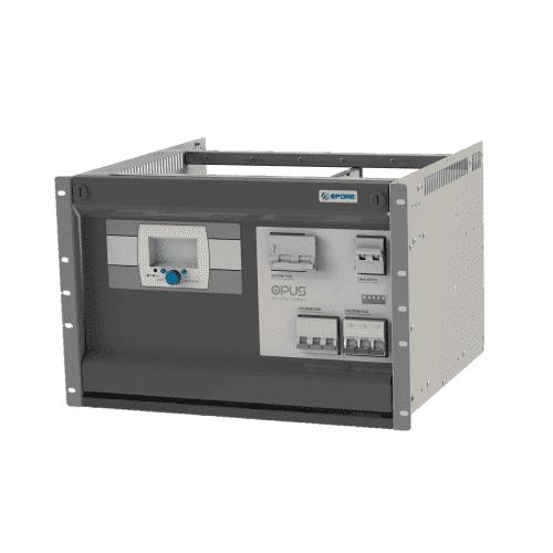 OPUS HE 7U Modular Battery Charger - Industrial DC UPS - Australia - 24V 48V 110V 125V