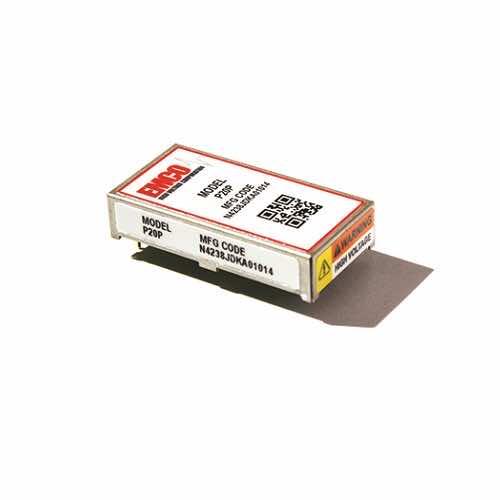 P Series 2mW ±2kV & 2.4mW±1.2kV Regulated DC to High Voltage DC Converters - Emco XP Power Australia