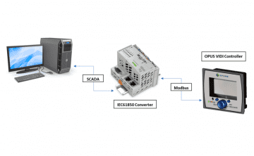 IEC61850 SCADA - Battery Charger System - Electrical Substations