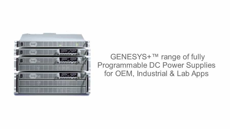 GENESYS Rack Mount Laboratory Variable DC Power Supply