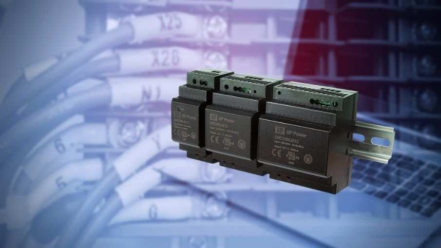 DRC Low-Cost DIN-Rail DC Power Supply 30W 60W 100W Class II Protection
