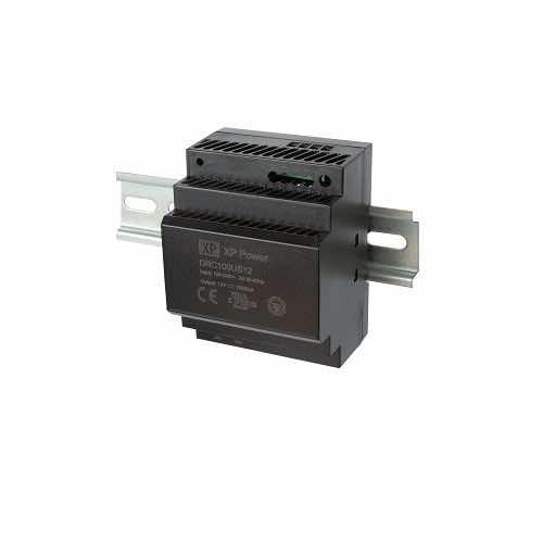 DRC100 Series 100W DIN Rail AC - DC Power Supply