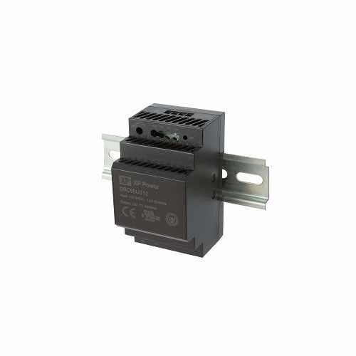 DRC60 Series 60W DIN Rail AC-DC Power Supply 5V, 12V, 15V, 24V or 48V output voltage options